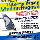n1surf Ezzy Cup – I Otwarte Regaty Windsurfingowe Karolinów – Zalew Sulejowski